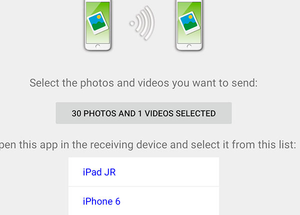 Easy Photo Transfer for iPhone and iPad - JR mobile apps